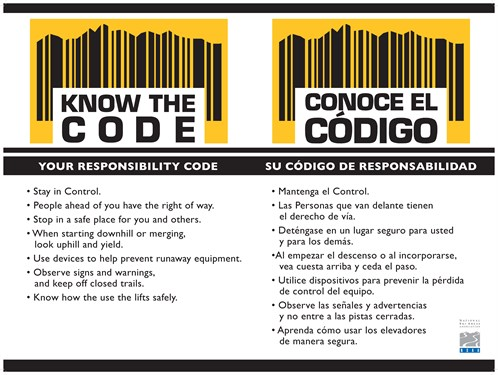 KNOW THE CODE: IT'S YOUR RESPONSIBILITY.